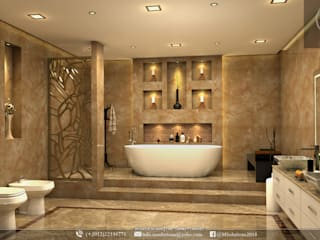"Luxury Bathroom designs: {:asian=>""الآسيوية"", :classic=>""كلاسيكي"", :colonial=>""استعماري"", :country=>""ريفي"", :eclectic=>""انتقائي"", :industrial=>""صناعي"", :mediterranean=>""متوسطي"", :minimalist=>""الحد الأدنى"", :modern=>""حديث"", :rustic=>""ريفي"", :scandinavian=>""الاسكندنافية"", :tropical=>""استوائي""}  تنفيذ MSolutions,"