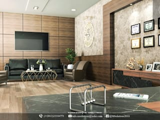 Office/Commercial place design:   تنفيذ MSolutions