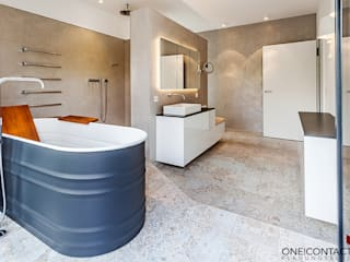 Modern bathroom by ONE!CONTACT - Planungsbüro GmbH Modern