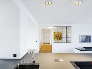 Modern Corridor, Hallway and Staircase by ONE!CONTACT - Planungsbüro GmbH Modern