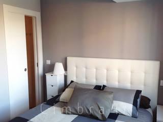 Reforma de vivienda en San Agustín, Burgos.: Dormitorios de estilo  de Cimbra47