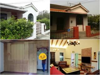 太棠設計 Country style houses Wood Wood effect