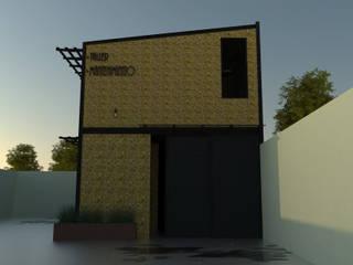 Taller MANTENIMIENTO . KIKOS PASTES Casas industriales de GT-R Arquitectos Industrial