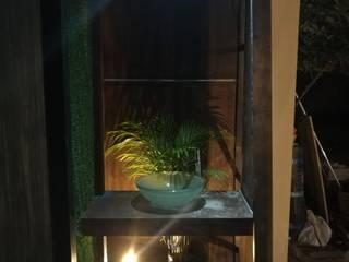 Baño para Jardin Casa Quezada: Baños de estilo  por FSerrano Arquitectos