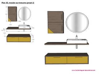 Mobilier sur-mesures par Lucile Tréguer, décoratrice d'intérieur Moderne
