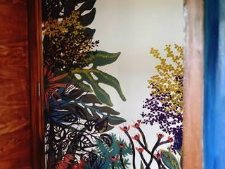 Murales de plantas Casas tropicales de Julieta Zyk Murales Tropical