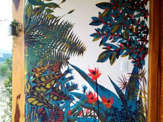Murales de plantas:  de estilo  por Julieta Zyk Murales,Tropical