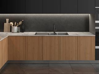 Dündar Design - Mimari Görselleştirme Cucina moderna