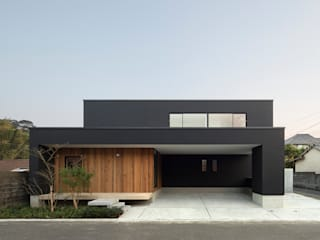 Houses by Atelier Square, Modern Concrete