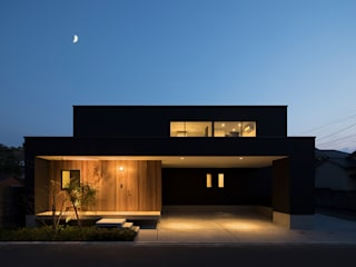 Houses by Atelier Square, Modern Wood Wood effect