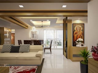 Stylish & Elegant Interior Designs Modern living room by Monnaie Architects & Interiors Modern