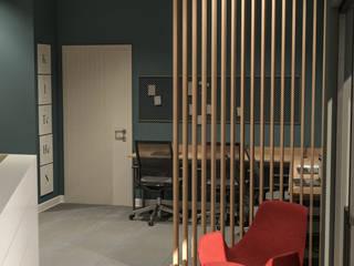 Bej Mimarlık – Apranti Ofis:  tarz Çalışma Odası, Modern