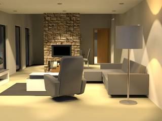 #HABMRM: Salas de estar  por Ana Rita Vicente, Arquiteta,Moderno