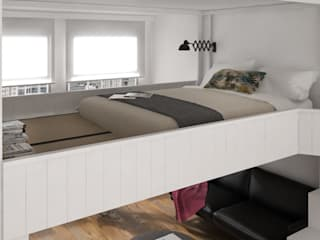 cinius s.r.l. Scandinavian style bedroom