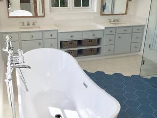 West Sussex Bathroom Eclectic style bathroom by Elizabeth Bee Interior Design Eclectic