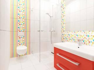 ANTE MİMARLIK ห้องน้ำ Red