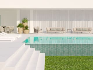 Garden Pool by CASA MARQUES INTERIORES