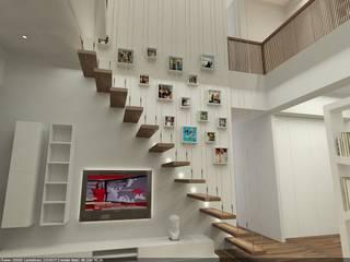 ilka iç mimarlık – ALPER TONGA VİLLA: modern tarz , Modern