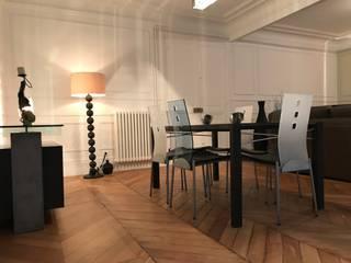 Appartement - Paris 5è - Atelier Florent: Salle à manger de style  par ATELIER FLORENT - Architectes d'Intérieur Paris, Classique