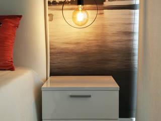 Projeto Design de Interiores- Quarto Jovem:   por Detalhes & Design