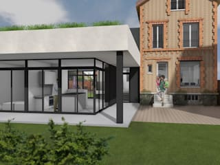 NAPPE par Florence Gaudin architecte Moderne