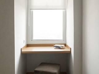 Meja Serbaguna Ruang Studi/Kantor Minimalis Oleh FIANO INTERIOR Minimalis