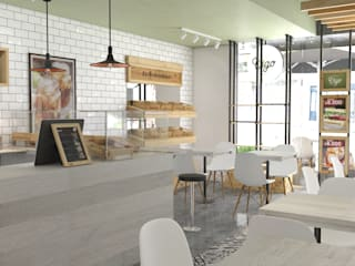 Restaurants de style  par Roque_industrial_design, Moderne