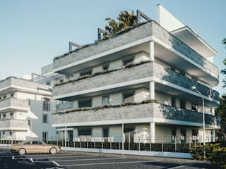 Prospetto Sud-Est di Studio Corbetta architettura e design Moderno
