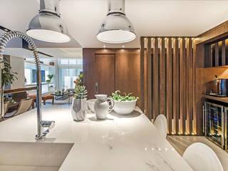 Apartamento Com Design Cozinhas modernas por BG arquitetura | Projetos Comerciais Moderno