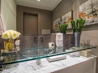 Studio Urbano Banheiros modernos por BG arquitetura | Projetos Comerciais Moderno