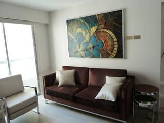 Sala Comedor: Salas / recibidores de estilo  por DIS.OLIVER QUIJANO