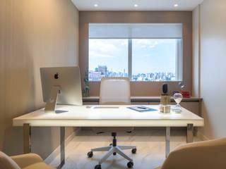 Projeto de Interiores Comercial | Clínica de Angiologia Clínicas modernas por BG arquitetura | Projetos Comerciais Moderno