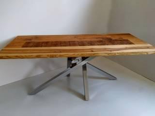 stół nowoczesny: styl , w kategorii  zaprojektowany przez AP meble pracownia mebli