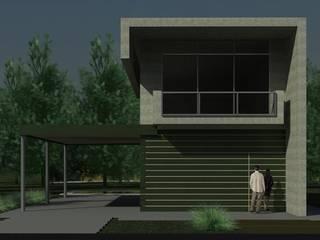 Obra Cardales: Casas unifamiliares de estilo  por R+ARQ