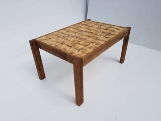 stolik kawowy z drewna: styl , w kategorii  zaprojektowany przez AP meble pracownia mebli