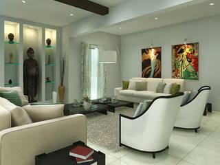 Interior Modern living room by Anamorpho Studio Modern
