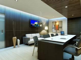 Interior:  Study/office by Anamorpho Studio