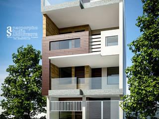 Private Residence Modern houses by Anamorpho Studio Modern