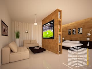 Bedroom by HHRG ARQUITECTOS, Modern