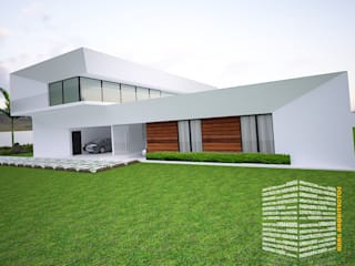 Country house by HHRG ARQUITECTOS, Modern