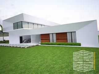 Rumah pedesaan oleh HHRG ARQUITECTOS, Modern