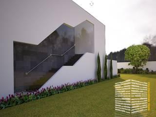 Stairs by HHRG ARQUITECTOS, Modern