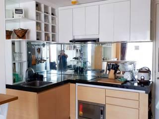Minimalist Scandinavian Apartment Dapur Gaya Skandinavia Oleh DIArchitects Skandinavia MDF