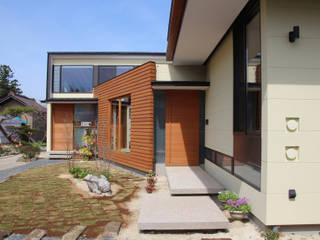 須賀川の立体住居: 芳賀宣則建築設計が手掛けた家です。,