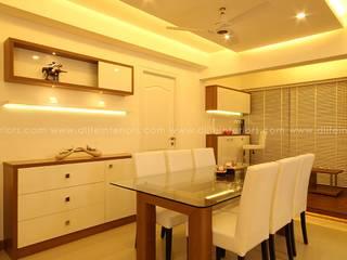 Mr. Anwar Rasheed , Film Director - Apartment in Kadavanthara,Kochi DLIFE Home Interiors Modern dining room