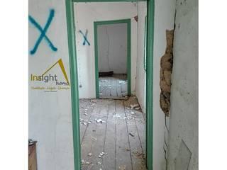 Primeiras demolições: Corredores e halls de entrada  por InsightHome
