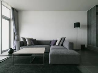 Salon moderne par Yoshiaki Ida Photography Moderne