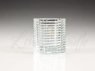 24 Hour Refill Candles & Chunky Glass Holders von The London Candle Company Klassisch