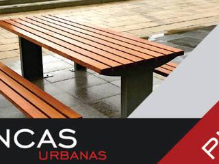 Mesas de Pic Nic:  de estilo  por Concepto Mobiliario Urbano