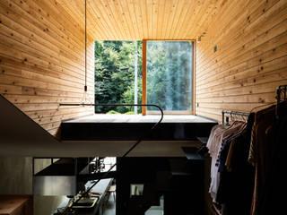 草屋根の家: TENKが手掛けた子供部屋です。,
